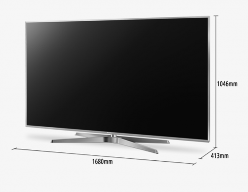 "Panasonic – TV 4K LED 75"" TC-75GX880W"