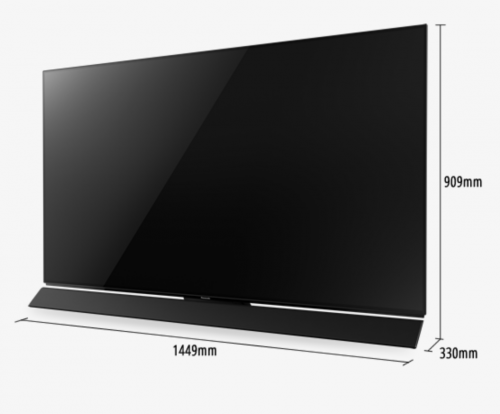 "Panasonic – TV 4K OLED 65"" TC-65FZ1000W"