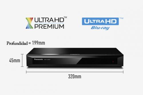 Panasonic – DMP-UB400PUK Blu-ray